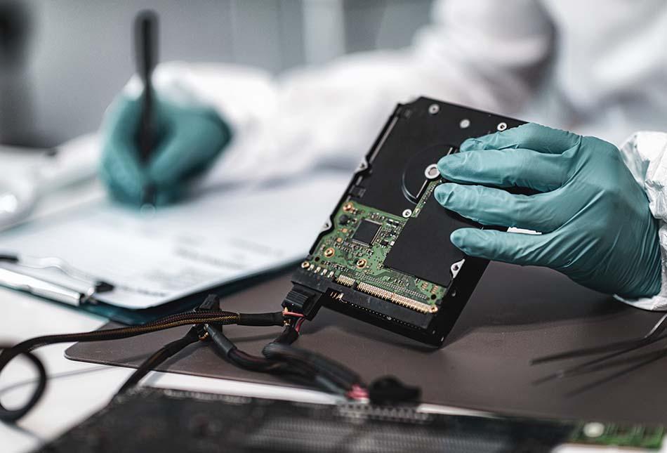 外接式硬碟檢測過程