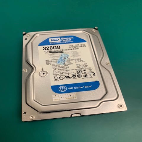 WD3200AAKS救援案例