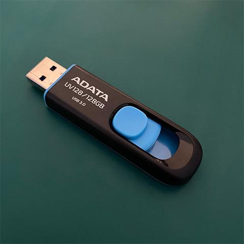 劉小姐 USB隨身碟 無法辨識