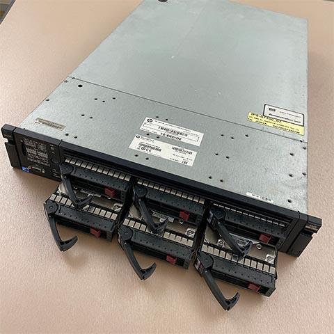 科技公司 HP Server RAID 無法讀取