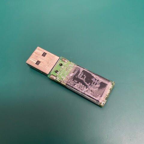 林先生 USB隨身碟 無法讀取