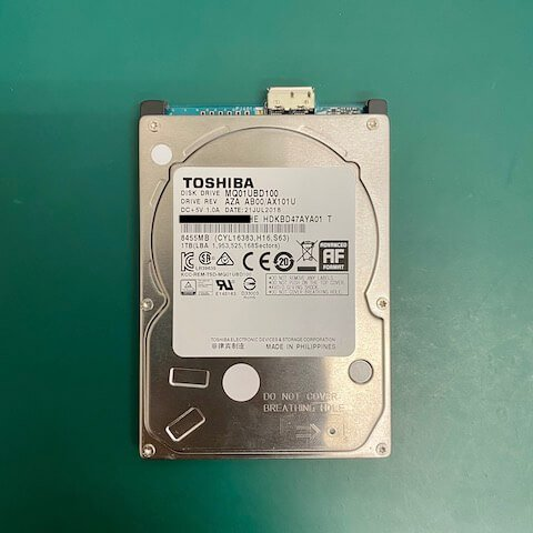 新聯昌廣告股份有限公司 外接硬碟 無法讀取
