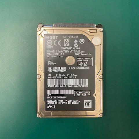 大榕國際股份有限公司 硬碟 資料覆蓋