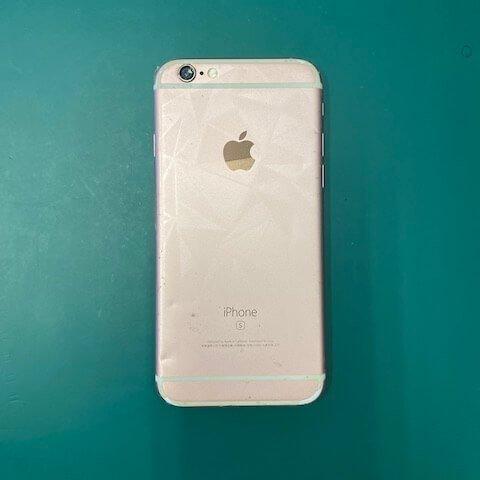 陳小姐 iPhone 摔到無法開機