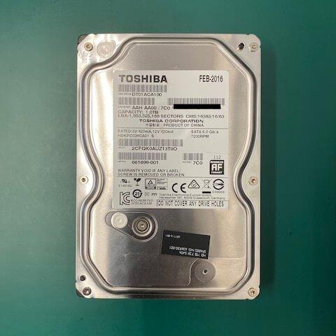 達立科技股份有限公司 硬碟 無法讀取