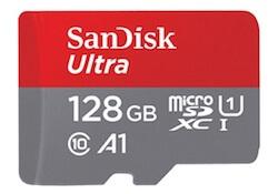 可以更換容量較大的記憶卡