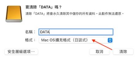 HFS是較舊MacOS使用系統格式和外接硬碟所使用